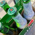 Image for the Tweet beginning: When you joke Heineken man