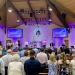 Image for the Tweet beginning: We are thankful for worship