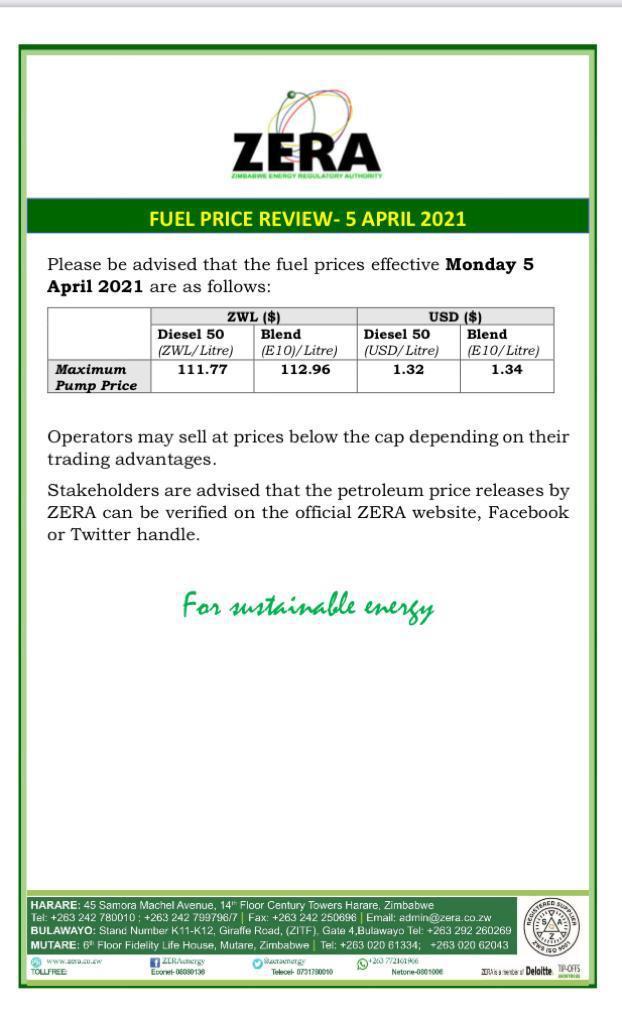 Fuel Price Goes Up!