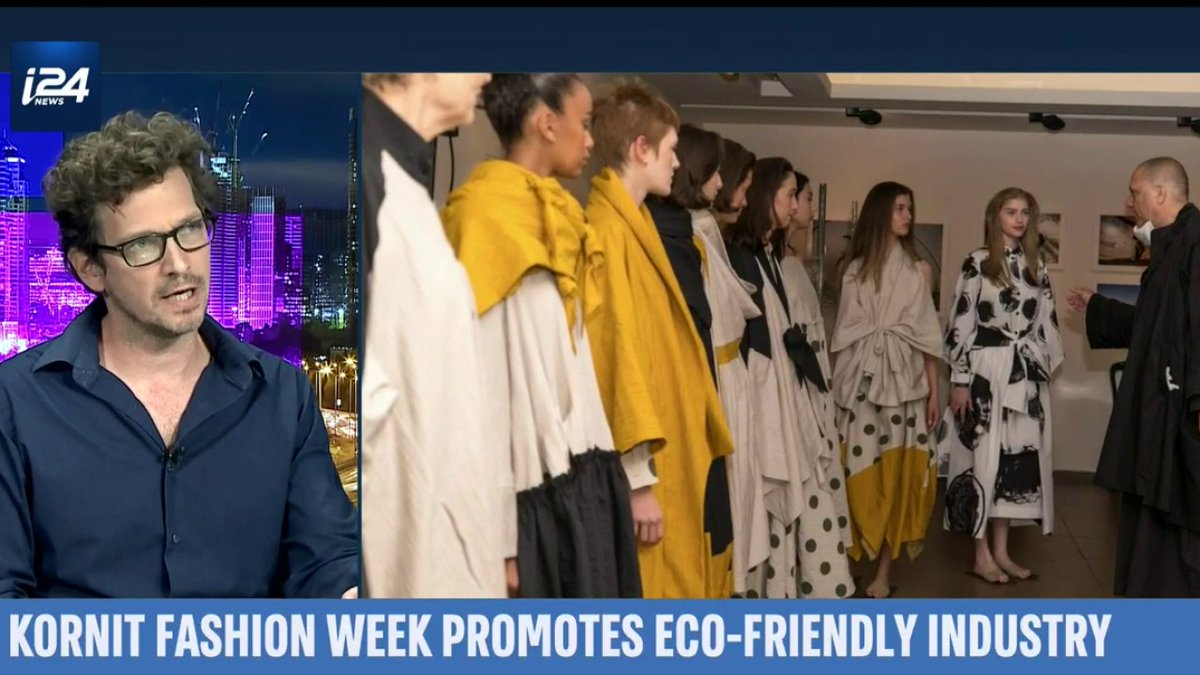 Image for the Tweet beginning: #TelAviv hosts a fashion week