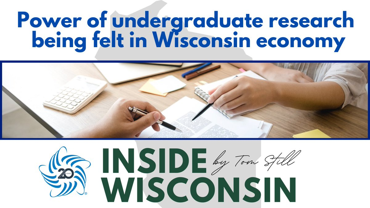 "U of WI & Research Go Together  ""Less known is that faculty, academic staff and growing cohorts of students are conducting research on regional campuses where doctoral degrees aren't offered, but opportunities to conduct meaningful work are increasingly engrained."" #MKETECH #RotR"