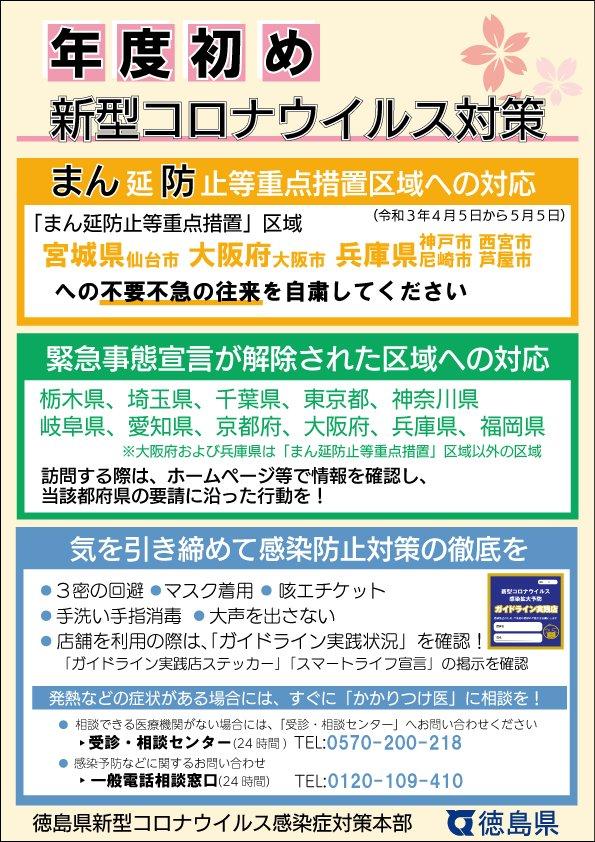 徳島 県 新型 コロナ