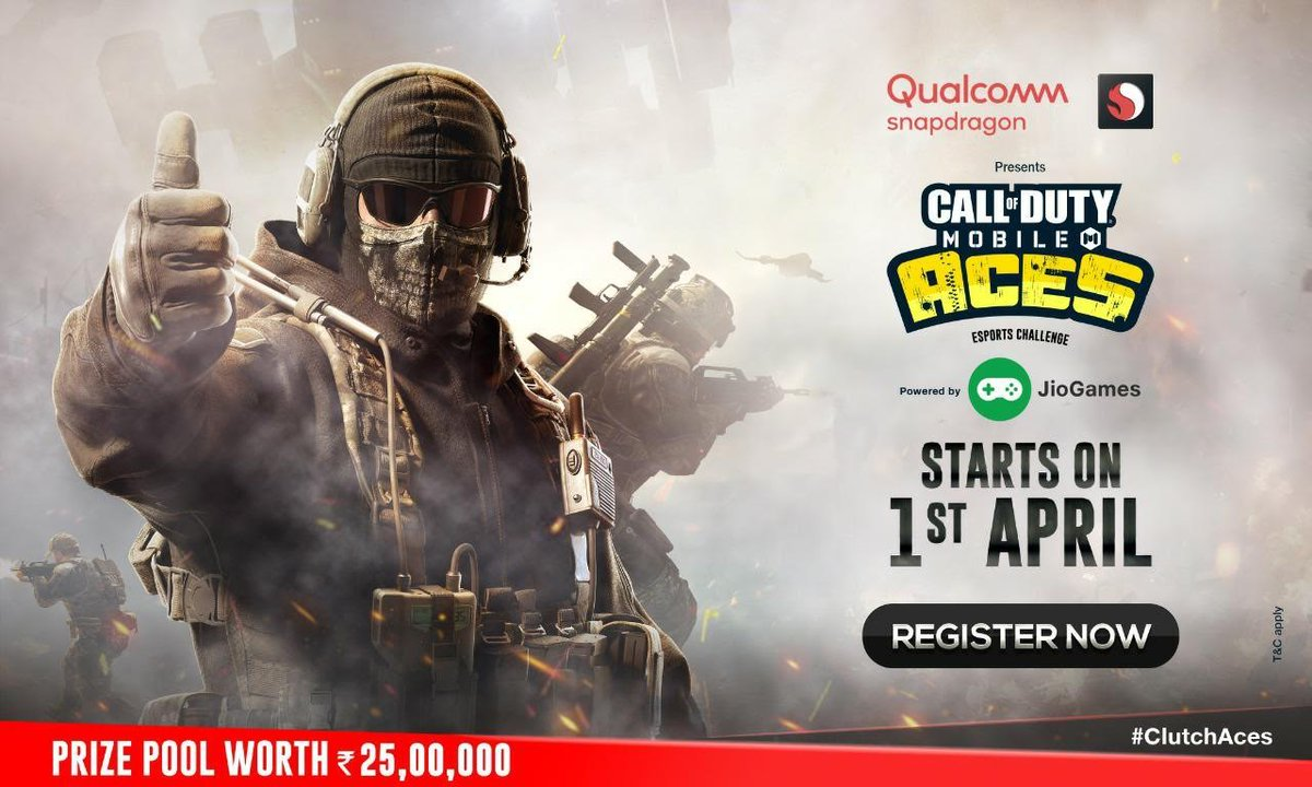 Jio and Qualcomm Snapdragon bring 'Call of Duty Mobile Aces Esports Challenge' on JioGames platform