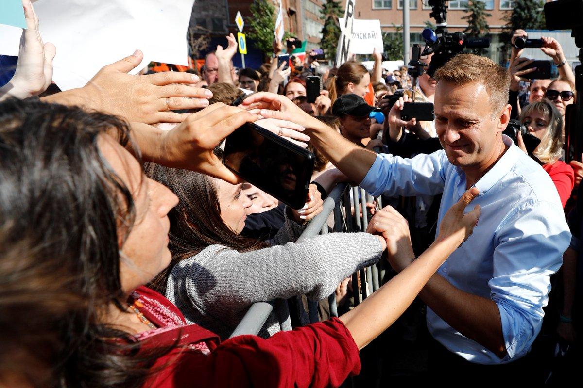 @AgnesCallamard's photo on Alexei Navalny