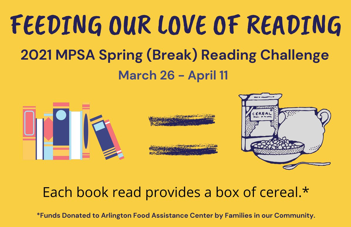 Welcome back, <a target='_blank' href='http://twitter.com/MPSArlington'>@MPSArlington</a> Monarchs! Keep reading  for fun for our Spring Reading Challenge benefitting <a target='_blank' href='http://twitter.com/AFACfeeds'>@AFACfeeds</a>. Look for forms in Seesaw & Canvas! One week to go! <a target='_blank' href='http://search.twitter.com/search?q=ReadersAreLeaders'><a target='_blank' href='https://twitter.com/hashtag/ReadersAreLeaders?src=hash'>#ReadersAreLeaders</a></a> <a target='_blank' href='http://twitter.com/ArlCoMontessori'>@ArlCoMontessori</a> <a target='_blank' href='http://twitter.com/APSLibrarians'>@APSLibrarians</a> <a target='_blank' href='https://t.co/GWzOgtfX3W'>https://t.co/GWzOgtfX3W</a>