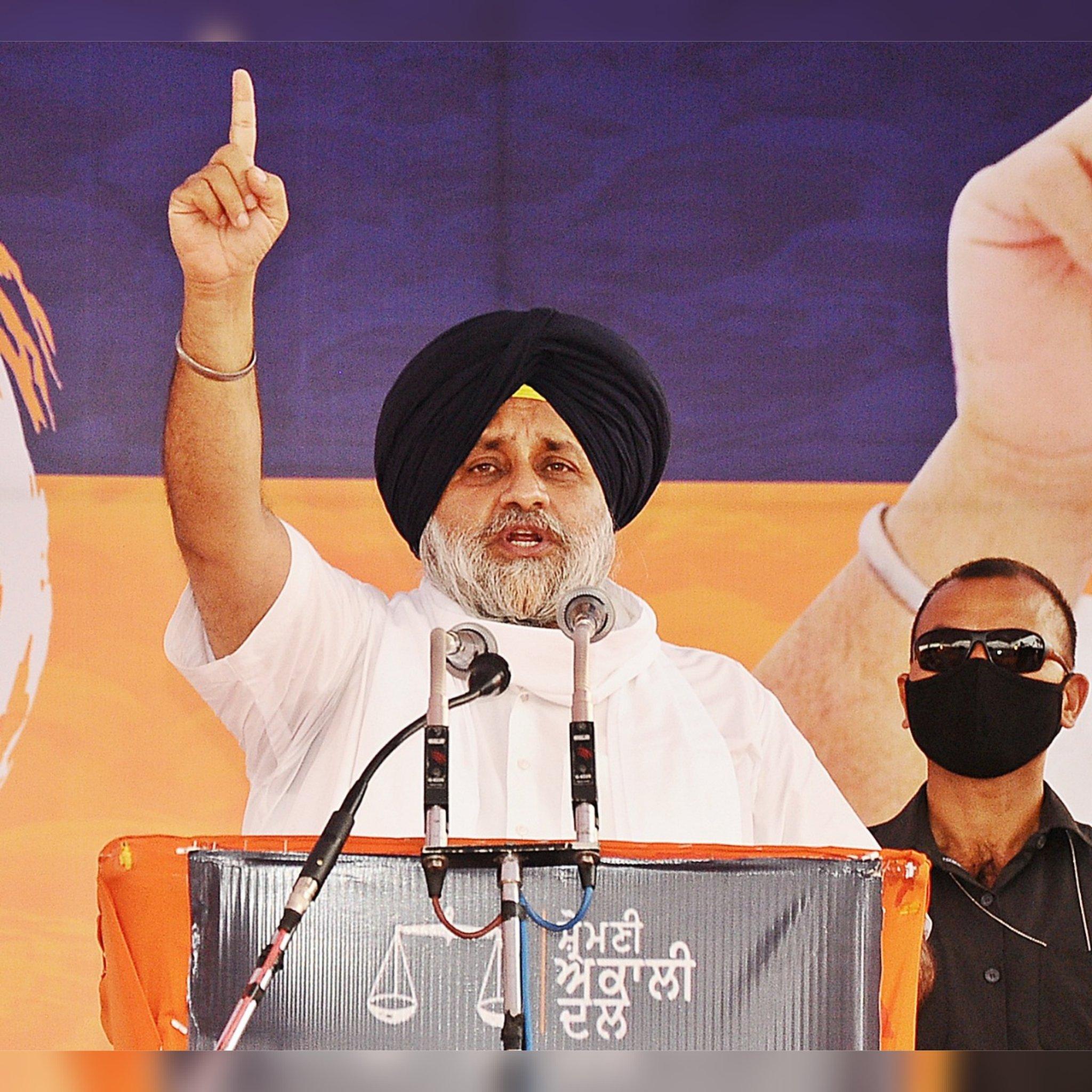 "Shiromani Akali Dal president Sukhbir Singh Badal said that Punjab CM Captain Amarinder Singh ""is ranting like spoilt kid""."