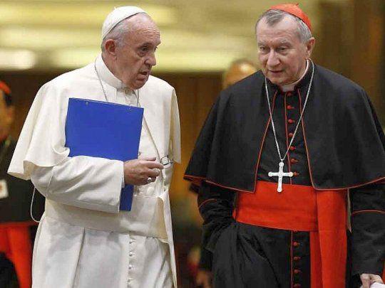 Francisco y el cardenal Parolin