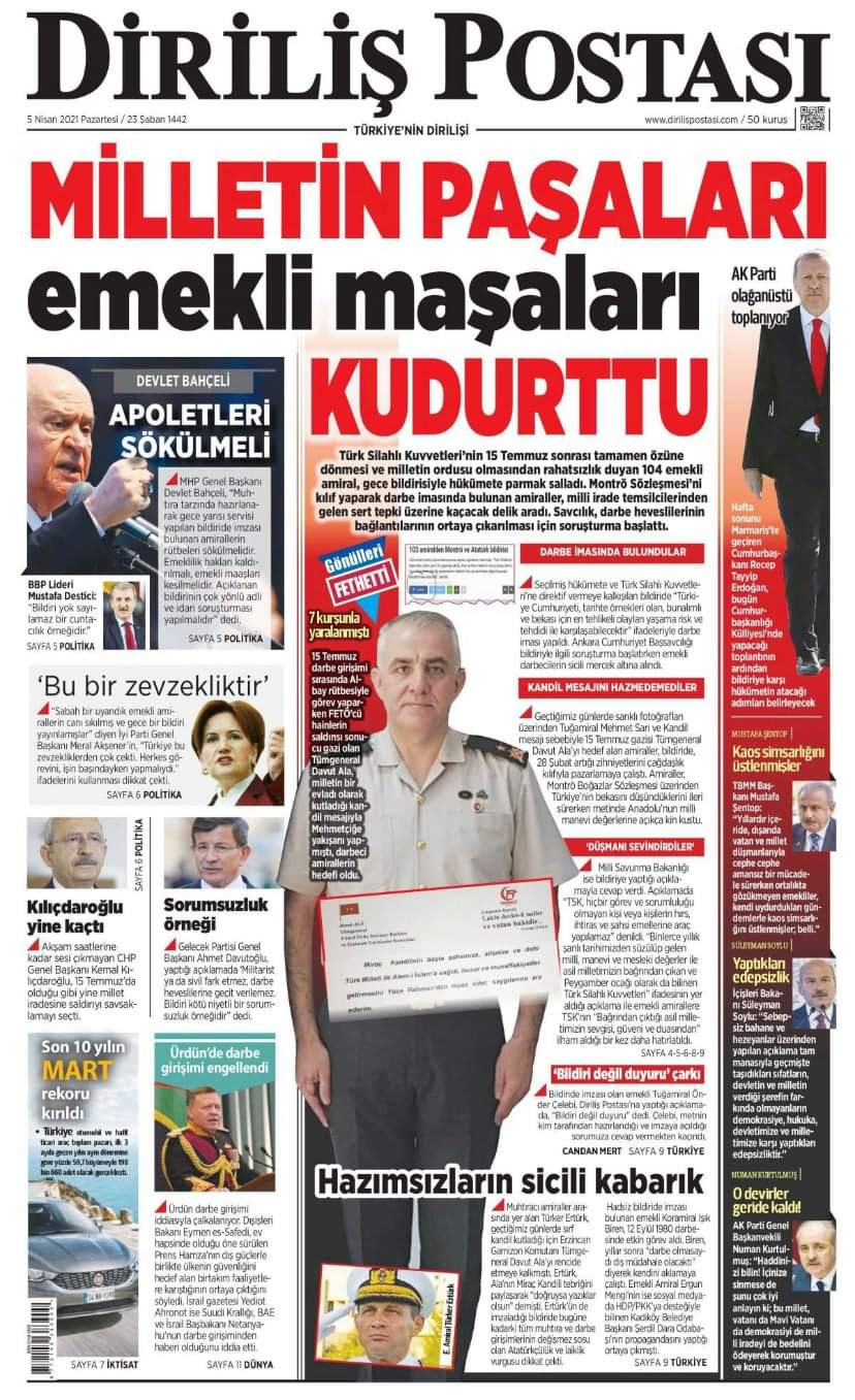 "Cihat Barış on Twitter: ""Magazin mecmuası değil gazete okuyun. @recepyetercom @mmuhammedsimsek Manşet budur.… """