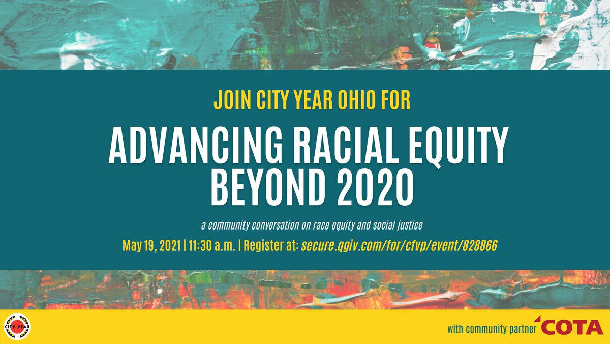 Check out our spring event! Advancing Racial Equity Beyond 2020! ✨