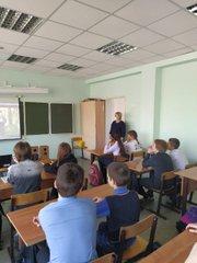 Встреча с представителем Тольяттинского лесничества