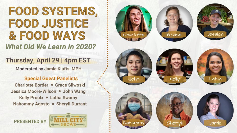Check out this event with our great friends at @MillCityGrows featuring @RECWorcester's own Director of Programs, Grace Sliwoski, among the wonderful panelists.