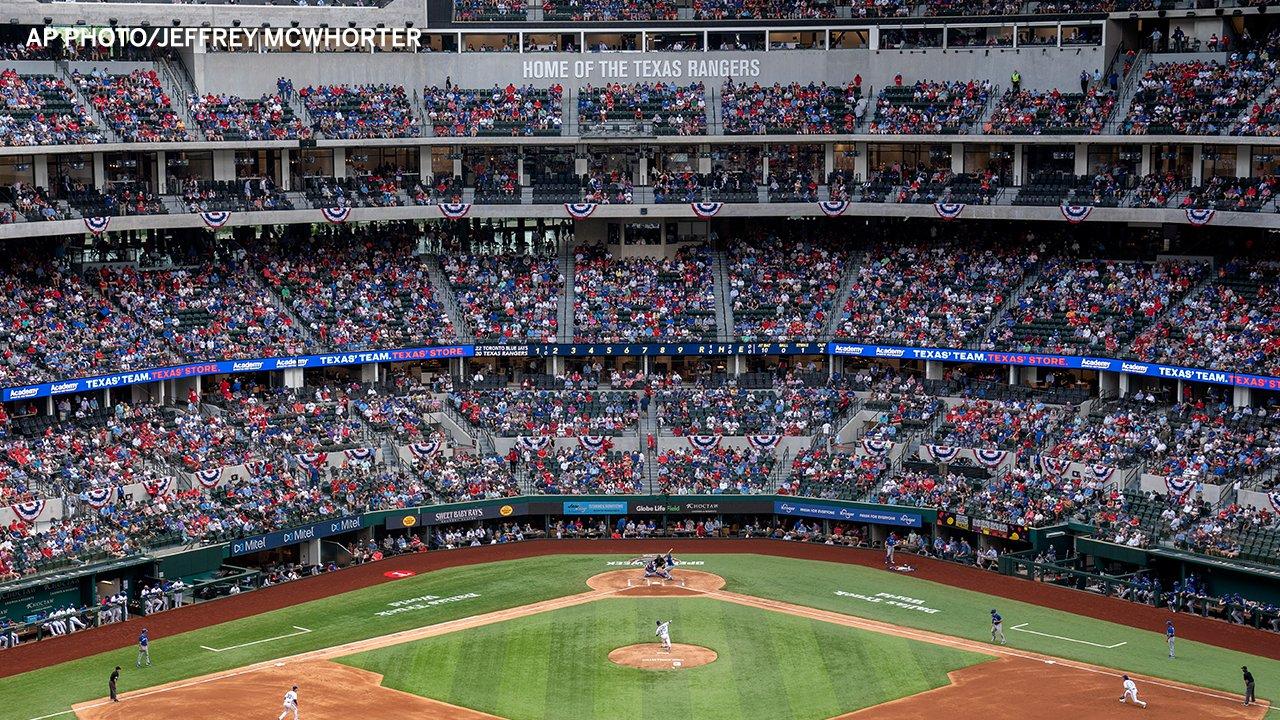 40k Fans Attend Rangers Game