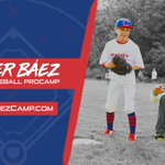 Can't wait to get back to camp this summer! My Youth Baseball @ProCamps will be held on July 26th at the Ballpark at Rosemont. Spots will be extremely limited this year so sign up now at https://t.co/RXbJ45qdXJ! 🎩