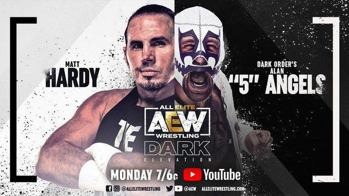 Matt Hardy también vio acción en este AEW Dark: Elevation.