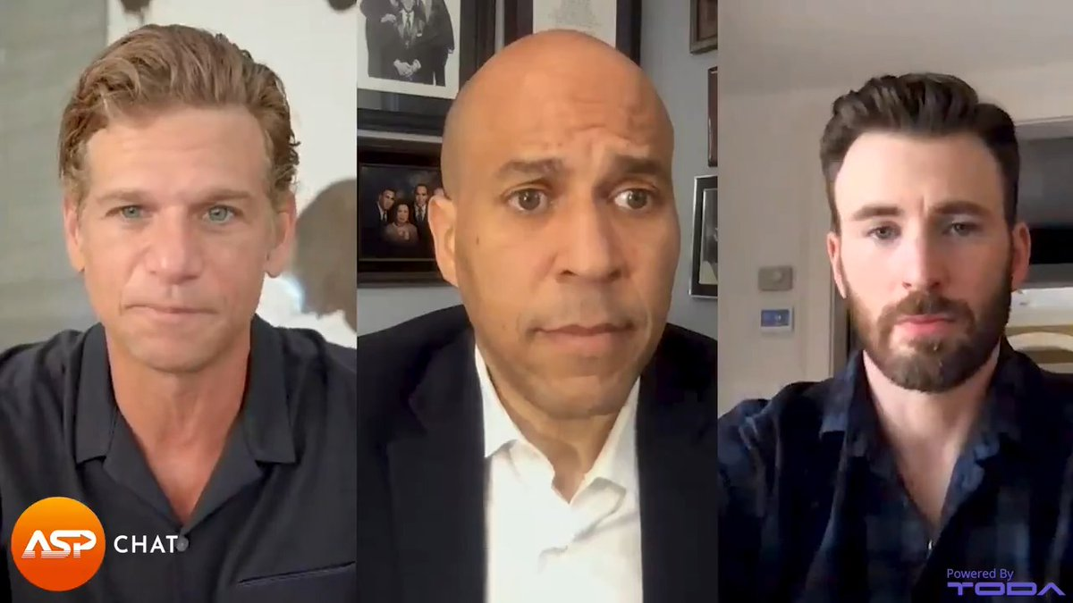 Tomorrow, join @ChrisEvans & @MarkKassen as they talk to @SenBooker about police reform, qualified immunity, the George Floyd Justice in Policing Act, and more. Tune in for the full special @Newsweek #ASPChat at 12PM ET tomorrow at https://t.co/oHmjxlmtXZ https://t.co/FW1y8SOE5a