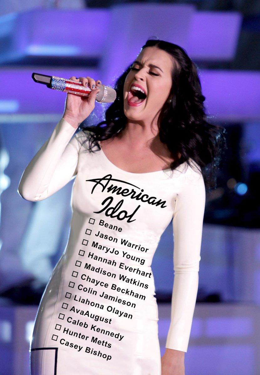 @katyperry's photo on #AmericanIdol