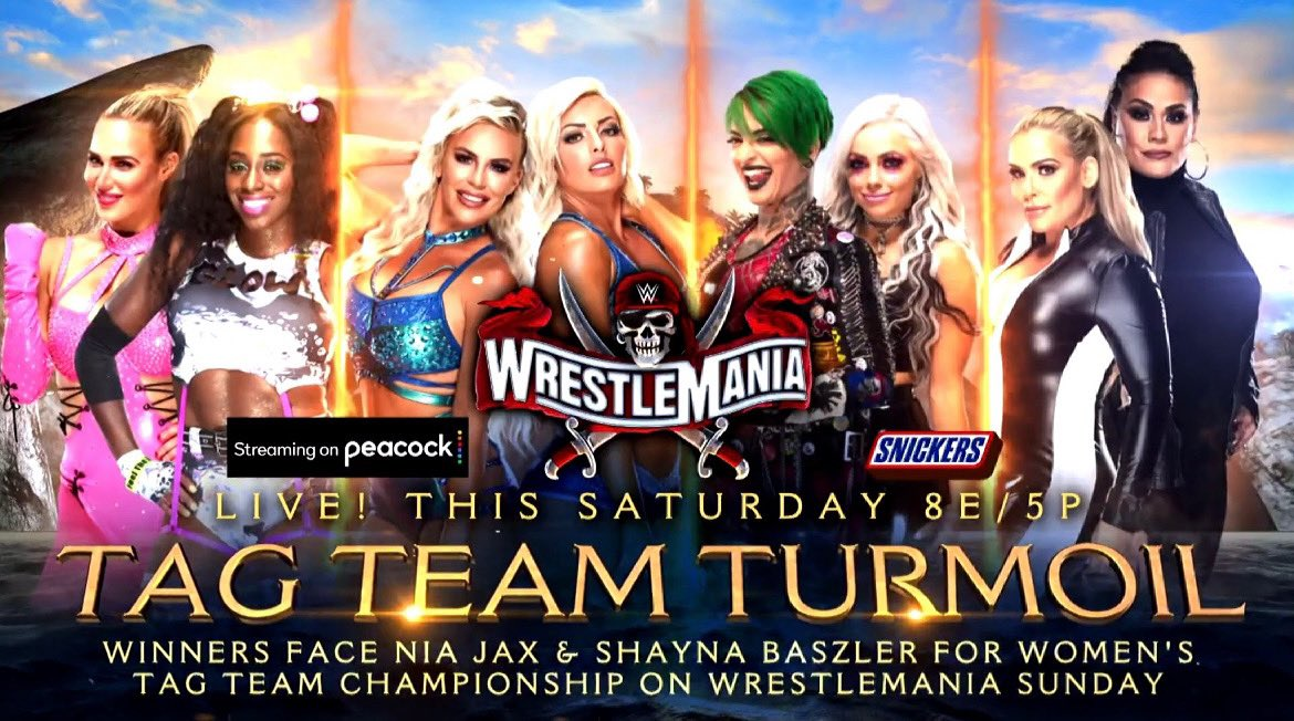 Tag Team Turmoil And New Title Match Added To WrestleMania 37