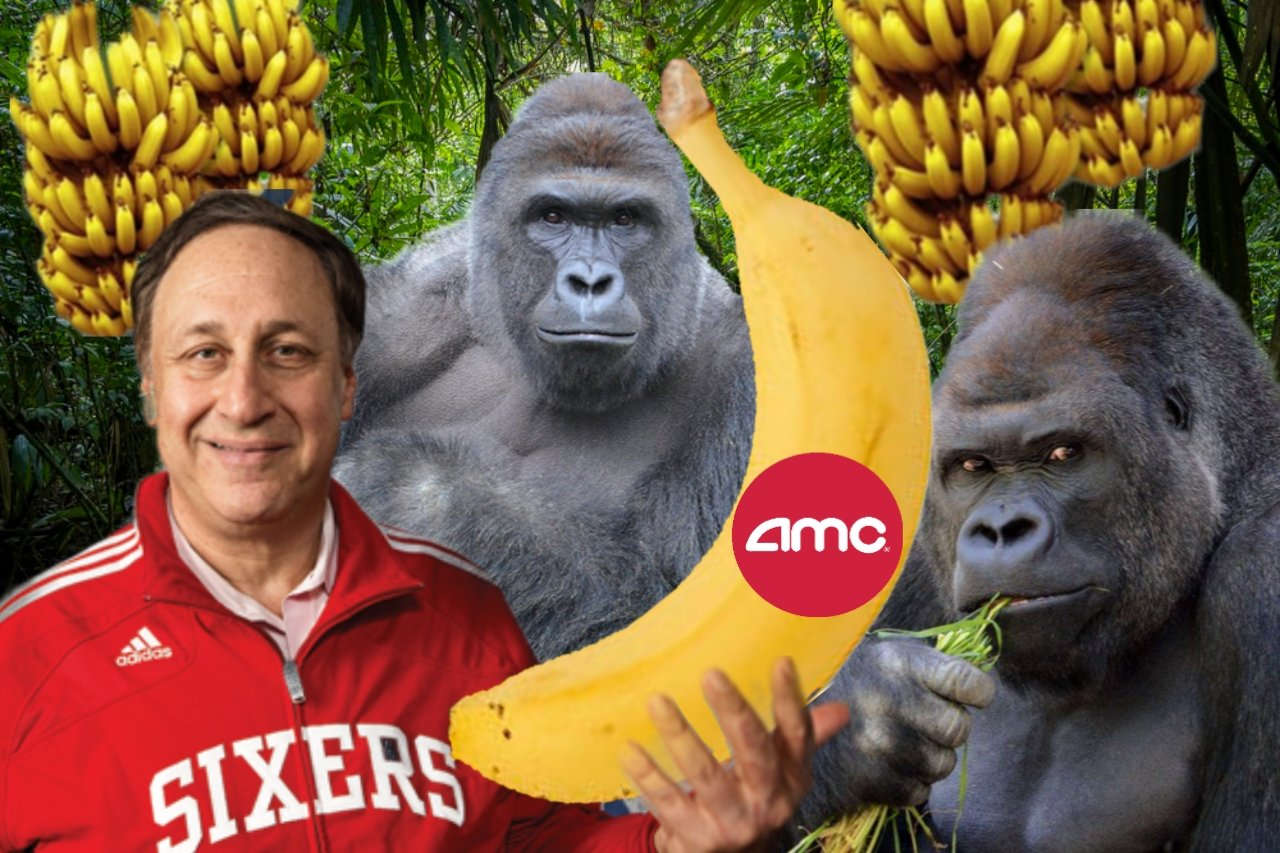 """Jurrasic Trader on Twitter: """"$AMC CEO Adam Aron today said that """"apes are a really good omen in the word of meme stocks."""" Good thing there's an army of us. #SaveAMC #AMC $"""
