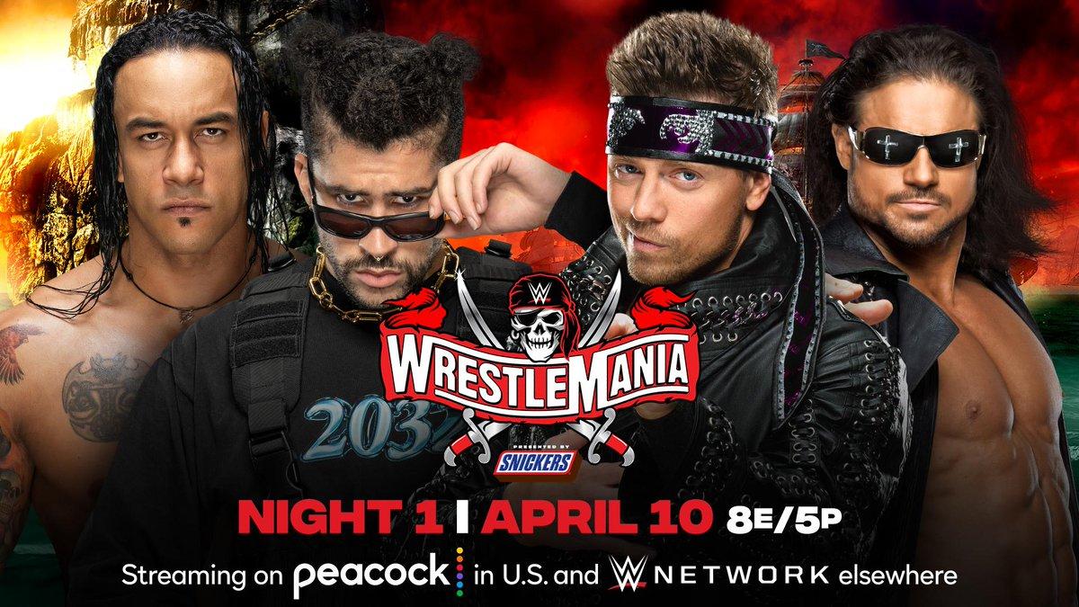 WWE Makes Change To WrestleMania 37 Match