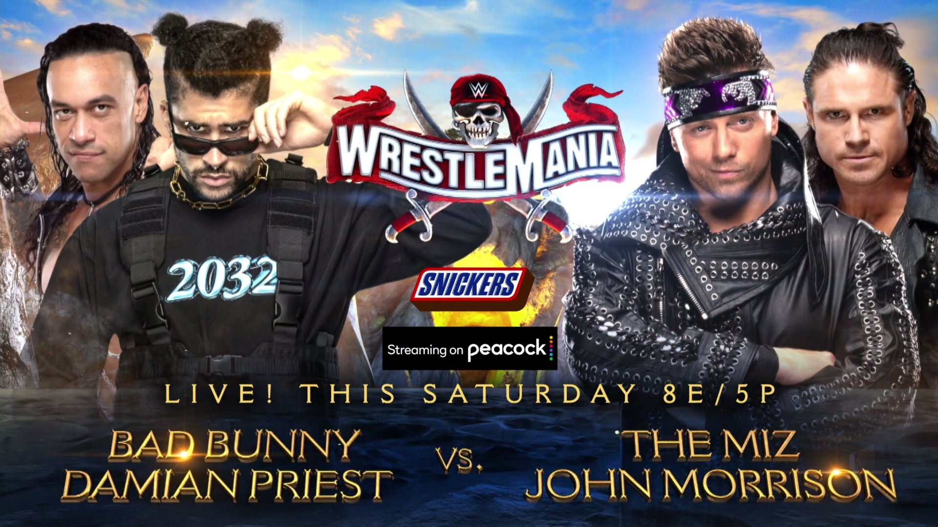 WWE Wrestlemania 37: Updated Full Card After Tag Team Turmoil & Title Match Announcement 1