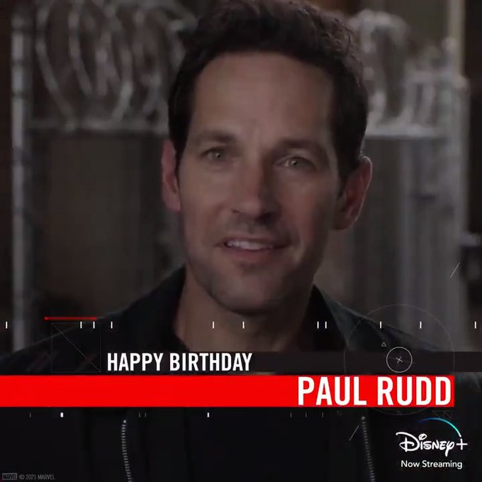 Ok, the first thing we should do is wish Ant-Man AKA Paul Rudd a happy birthday!