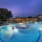 Image for the Tweet beginning: Most thermal spa pools in