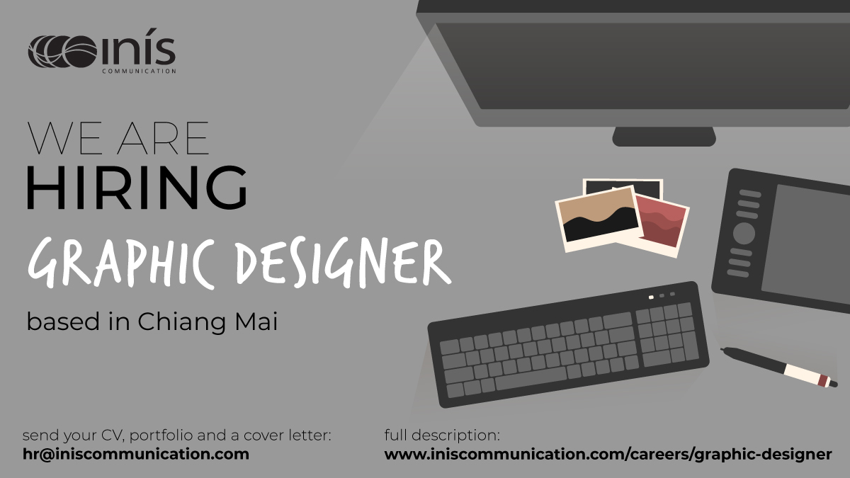 test Twitter Media - Our team is searching for a graphic #designer to join us in #ChiangMai, #Thailand. If you are a talented and creative designer, and are ready to work on some of the most pressing global issues of today, please drop us a line (by 30 April). More info here: https://t.co/ewoGTofja4 https://t.co/TWnu7H9fOl