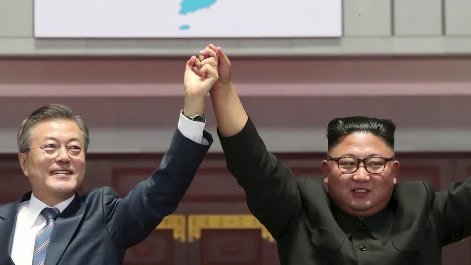 Image for the Tweet beginning: WATCH: North Korea will not