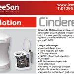 Image for the Tweet beginning: Cinderella Motion Incinerator Toilet represents