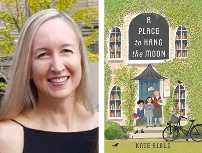 test Twitter Media - Welcome Kate Albus to our Virtual Book Tour! The author talks to us about her debut novel, A Place to Hang the Moon. Visit our blog for an exclusive interview, activities and much more! #kidlit https://t.co/XWcKrLHKAA @katealbus @HolidayHouseBks https://t.co/t1C7Oz1Q4u