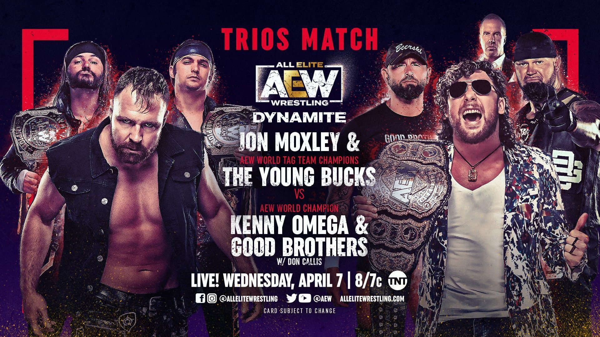 AEW Dynamite IGNITE for 4/7/21 https://pbs.twimg.com/media/EyS5YXJVgA0ohhV?format=jpg&name=large