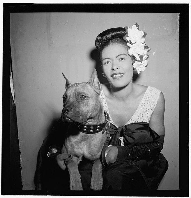 @JeffreyGuterman's photo on Billie Holiday