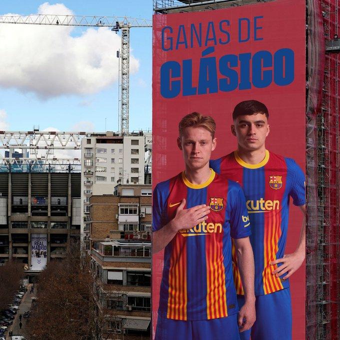 برشلونة يوجه رسالة قوية إلى ريال مدريد 2