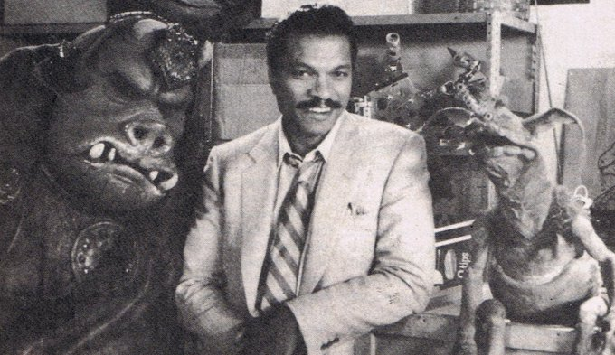 Happy birthday to Billy Dee Williams, born in New York on this day in 1937.