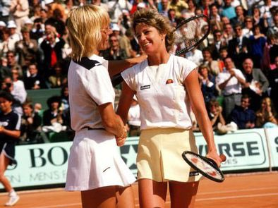 The two greatest rivalries Tennis have ever seen in terms of competitiveness and at the very top end have undoubtedly been @Martina and @ChrissieEvert and @DjokerNole and @RafaelNadal H2H Martina 43-37 Evert Novak 29-27 Nadal Slams Martina 18 Evert 18 Rafa 20 Novak 18 Wow!