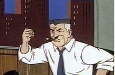 - I got the JJJ vaccine, no side effects either! - don't you mean J & J? Johnson and Johnson?  - no, this is a misrepresentation of my words! You're worse than that public menace Spider-Man! -What? https://t.co/rik8M1br09