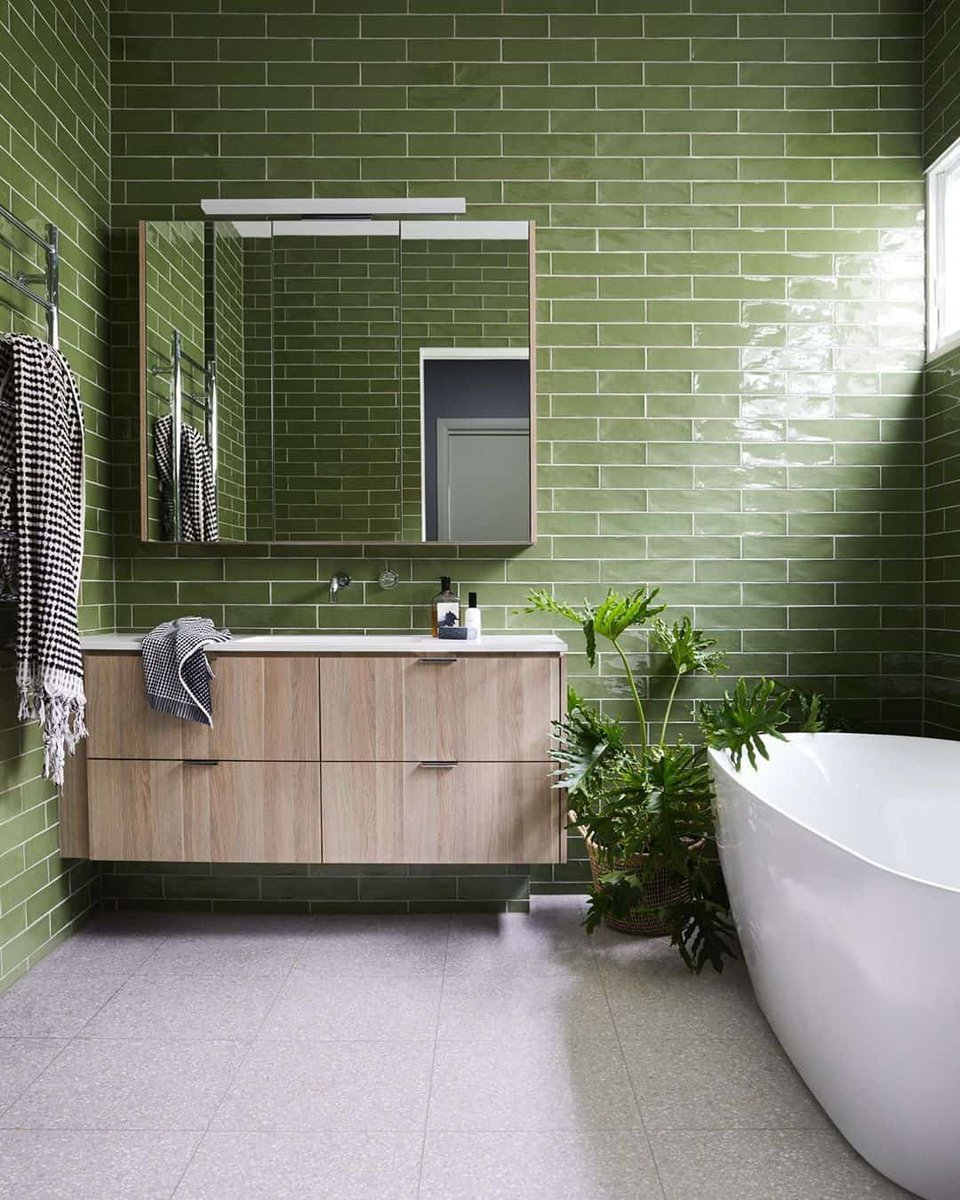 Peaceful & good fortune that's what the green power could lead in your life! Click the link to get an instant estimate of your bathroom hubs.ly/H0KyPV-0