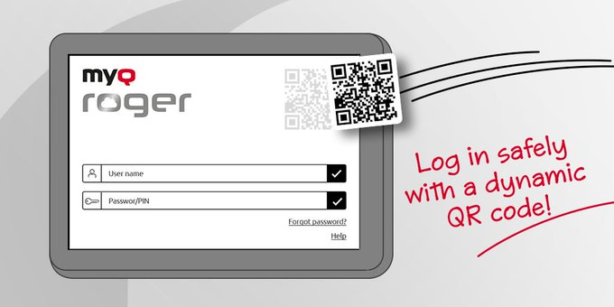 Twitter - Dynamic QR login, you say?   That's right, each lo