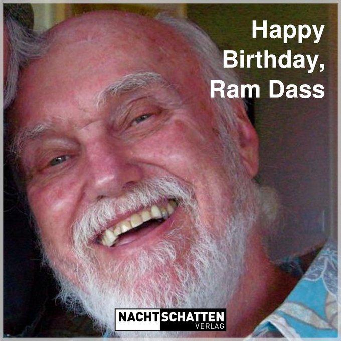 Happy Birthday, Ram Dass!