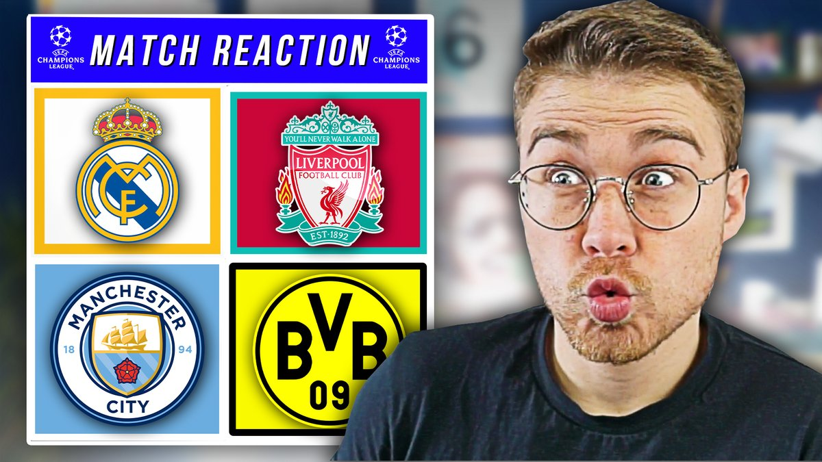 I will be reacting to #RMALIV & #MCIMUN straight after the final whistle tonight! (10pm)  A massive night of footy.👇👇 Set your reminders now: https://t.co/JHmd972S6a https://t.co/y1MFCrXsYe