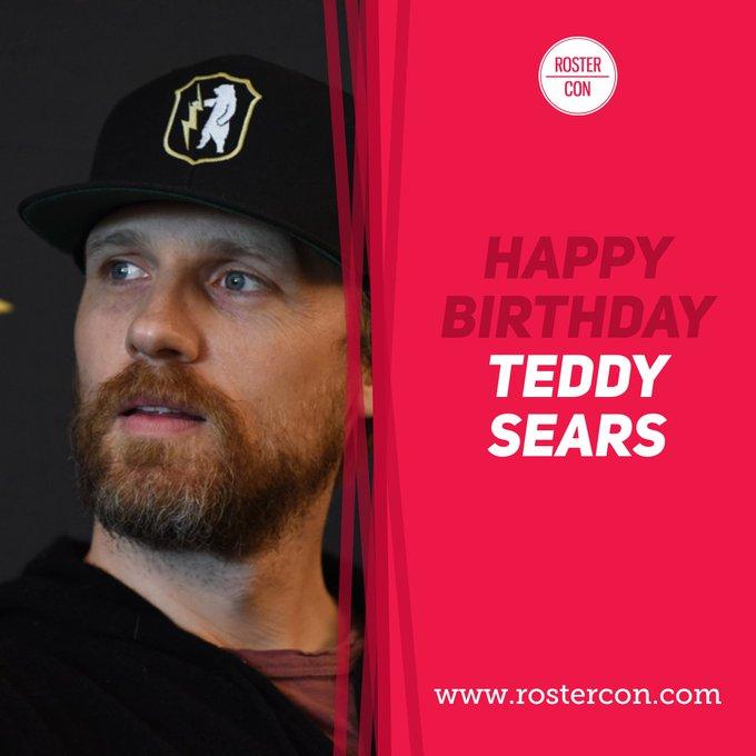 Happy Birthday Teddy Sears ! Souvenirs / Throwback :