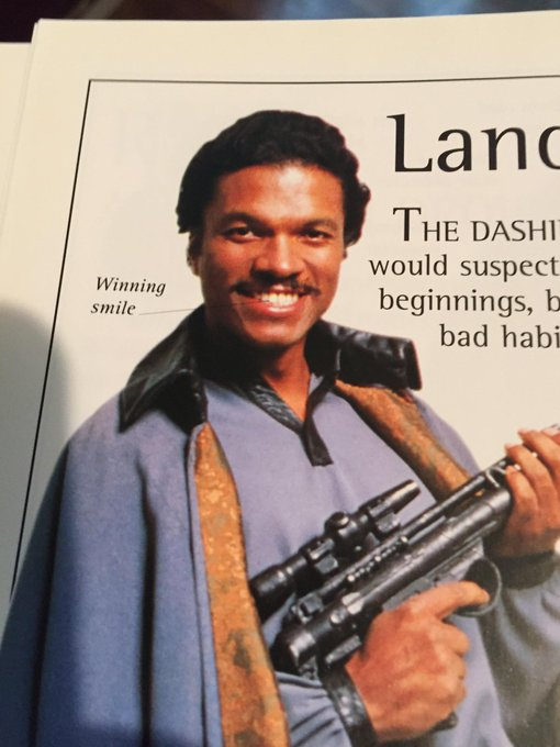 HAPPY BIRTHDAY BILLY DEE WILLIAMS!!! 84 years in and your winning smile is still going strong
