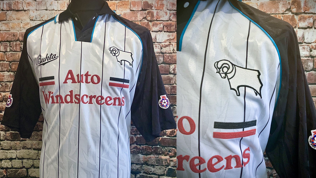 Derby County 1993-94 Home Kit