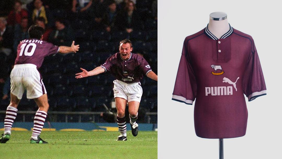 Derby County Puma Away 1996-97