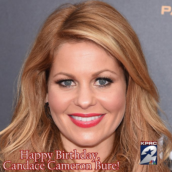 Happy Birthday, Candace Cameron Bure! The actress is 45 years old today.