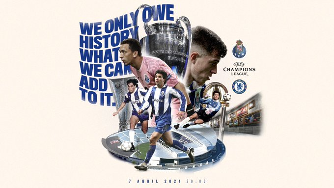 FC Porto vs Chelsea, Kamis (8/4/2021) dinihari pukul 02.00 WIB