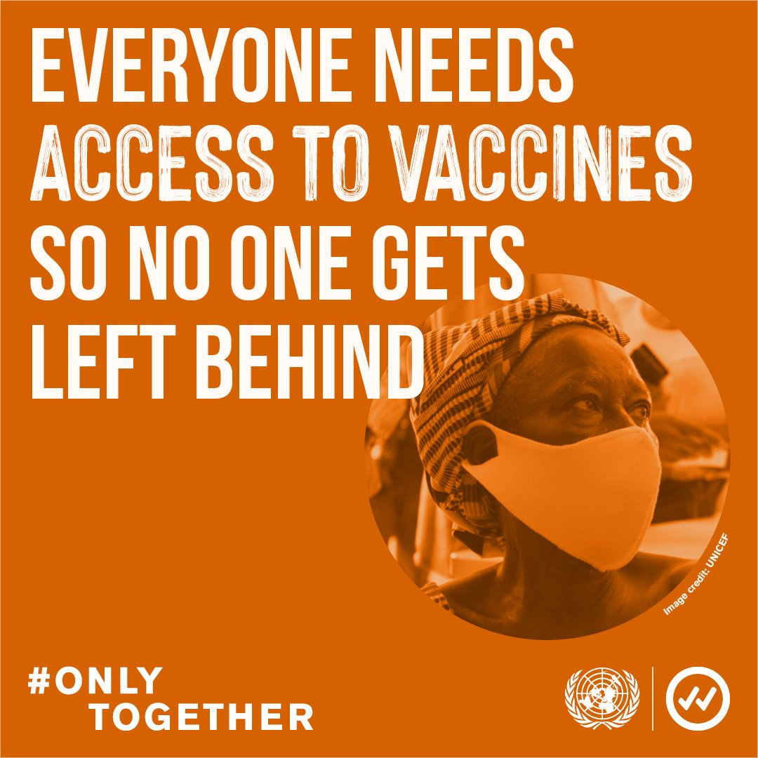 The vast majority of #COVD19 vaccine doses administered have been in a few wealthy countries or those producing vaccines.  Such inequities are immoral and dangerous for our health, our economies & our societies.  This #WorldHealthDay, let's commit to a healthy, equitable world. https://t.co/HPIV9qdxrq