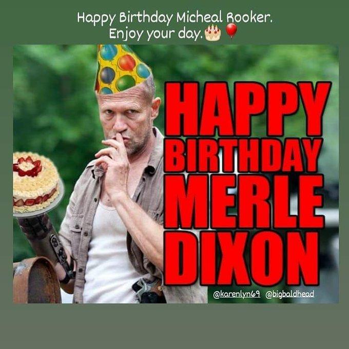 Happy Birthday Micheal Rooker.