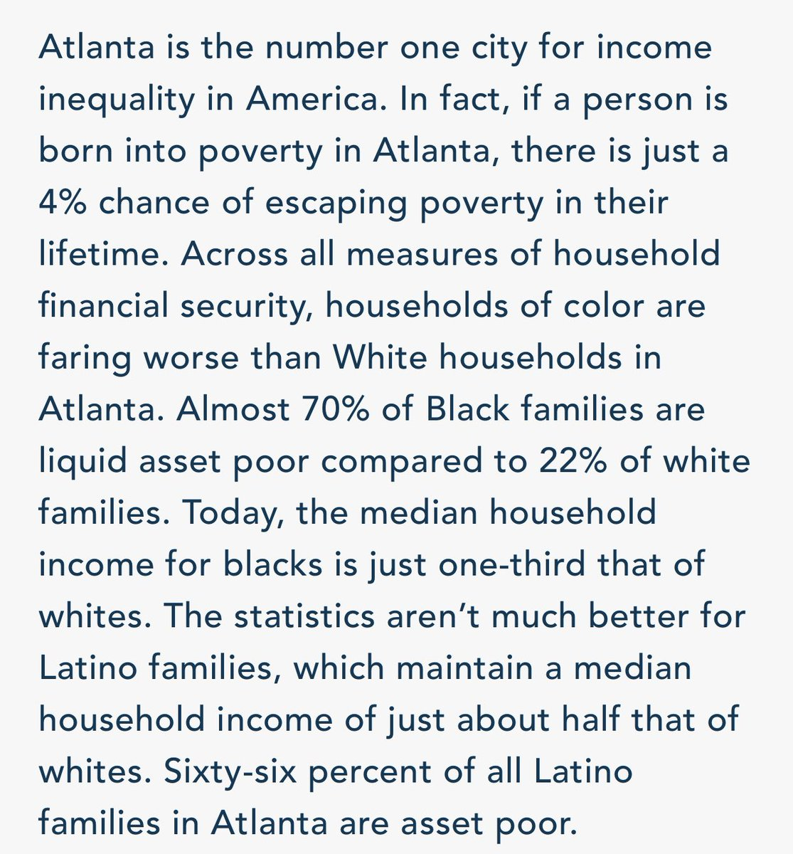 Follow the trail to the pockets where that $100M would end up—even in a majority Black city like Atlanta—and you might just learn something about systemic racism. https://t.co/MbBuIVyAMt https://t.co/jnv9Geg2Mt