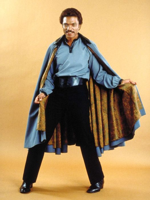 Happy Birthday to Billy Dee Williams who turns 84 today!  Pictured here as Lando Calrissian.